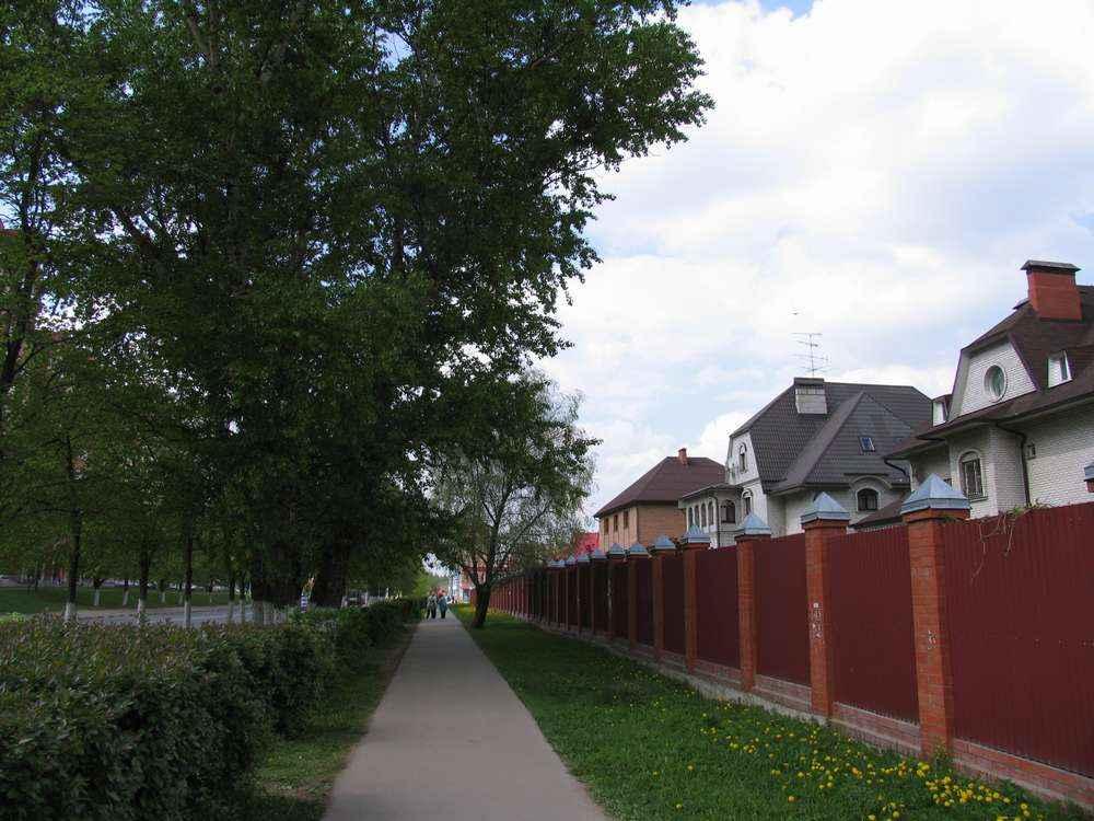 За этим забором - Рыбинский проезд