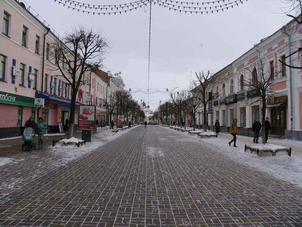 Главная пешеходная улица Ярославля
