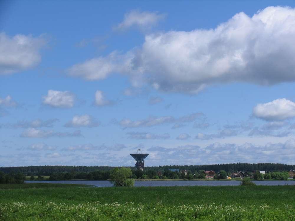 Космический радиотелескоп в Калязине