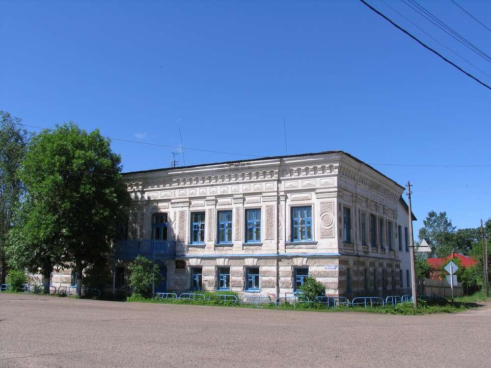 Старинный особняк в Калязине