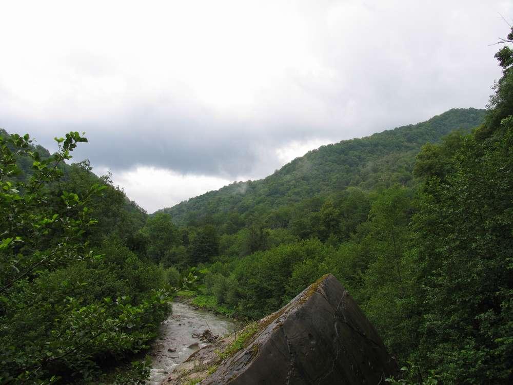 Долина горной реки