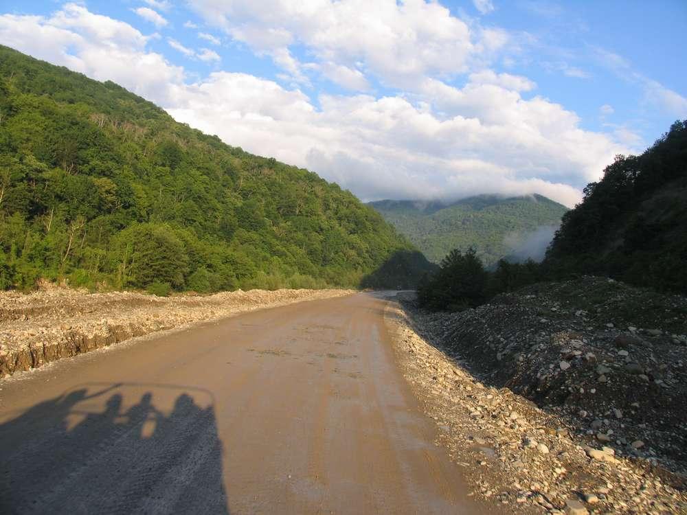 Поездка по горам, по долам