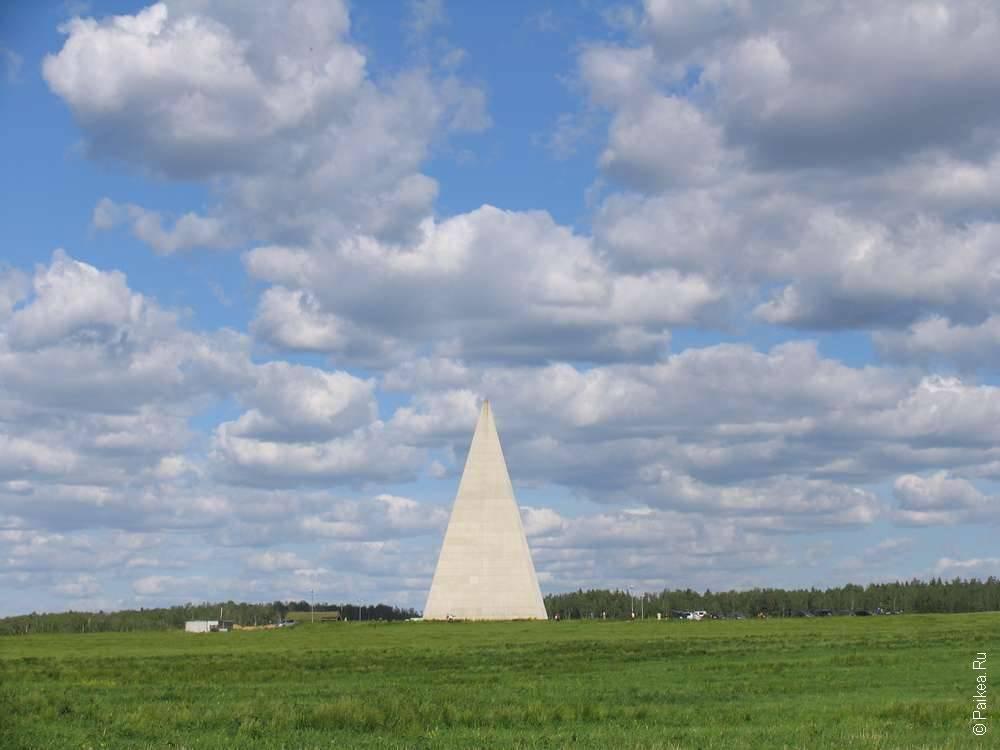 Настоящая пирамида в Москве