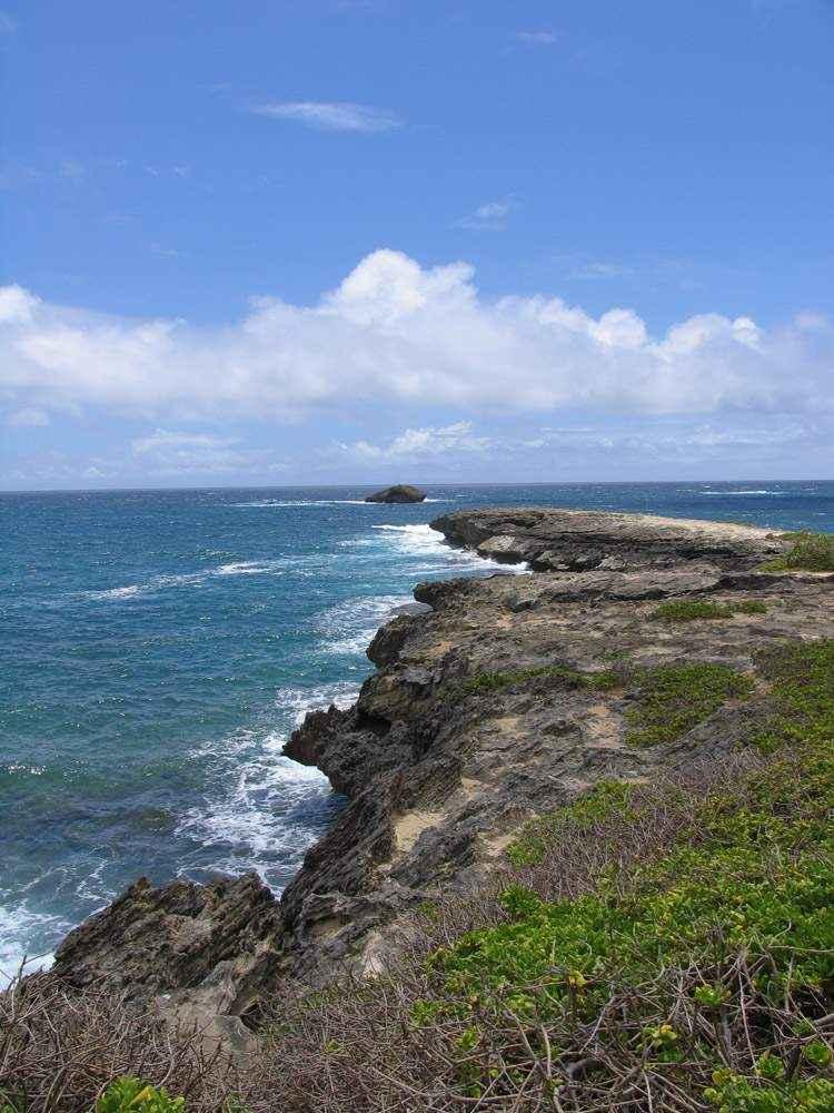 совместная работа вулкана и океана