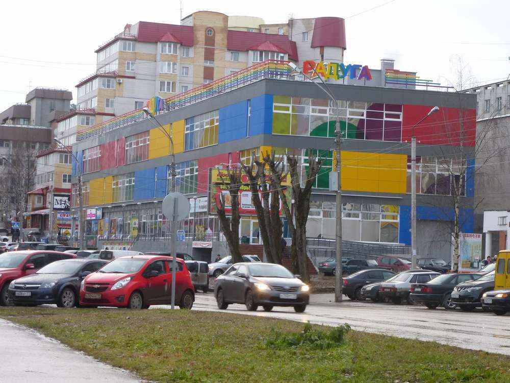 Такие красочные здания есть теперь в столице Коми