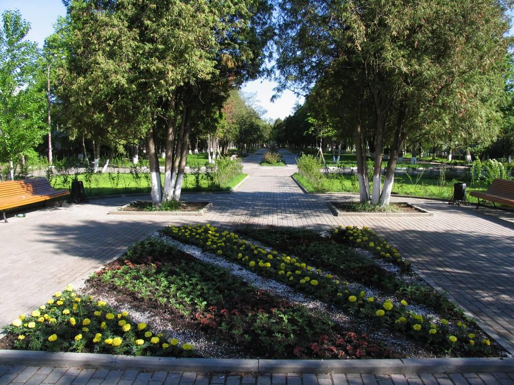 Парк в поселке Северном