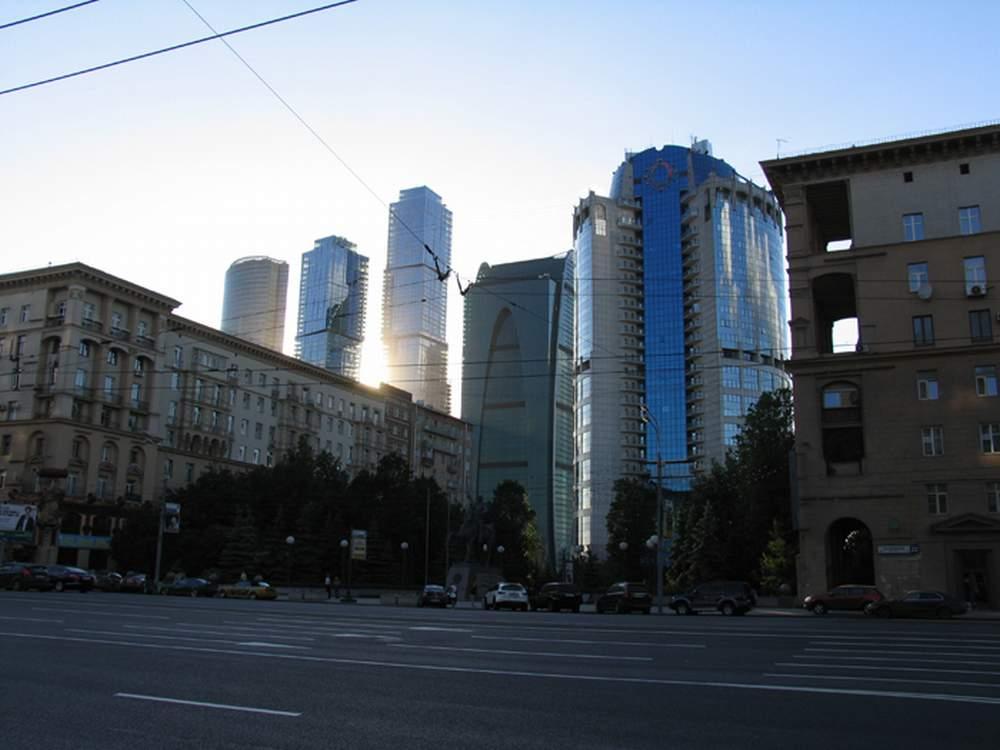 Сити вырос неожиданно. Вид с Кутузовского проспекта