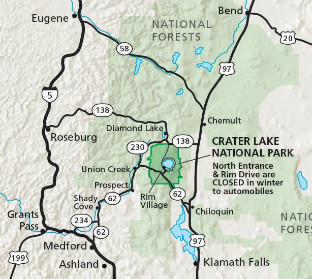 Как добраться к озеру Крейтер