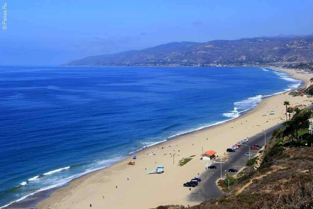 Пляж Зума, Лос-Анджелес, Калифорния, США