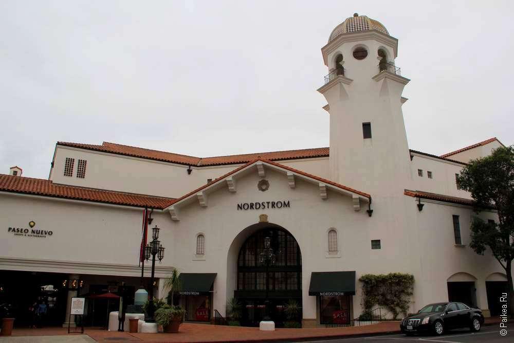 памятник колониальной архитектуры, Санта-Барбара, Калифорния, США