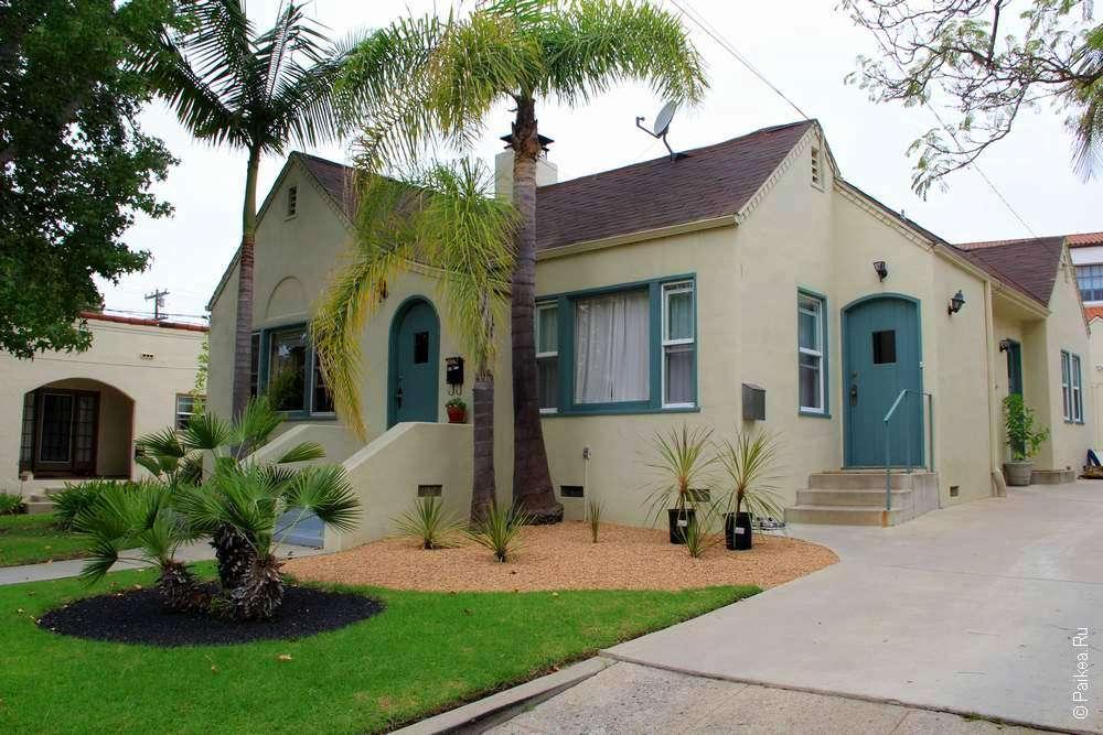 дом и арки санта-барбары