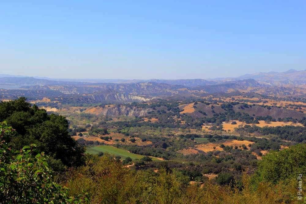 Пейзаж Южной Калифорнии