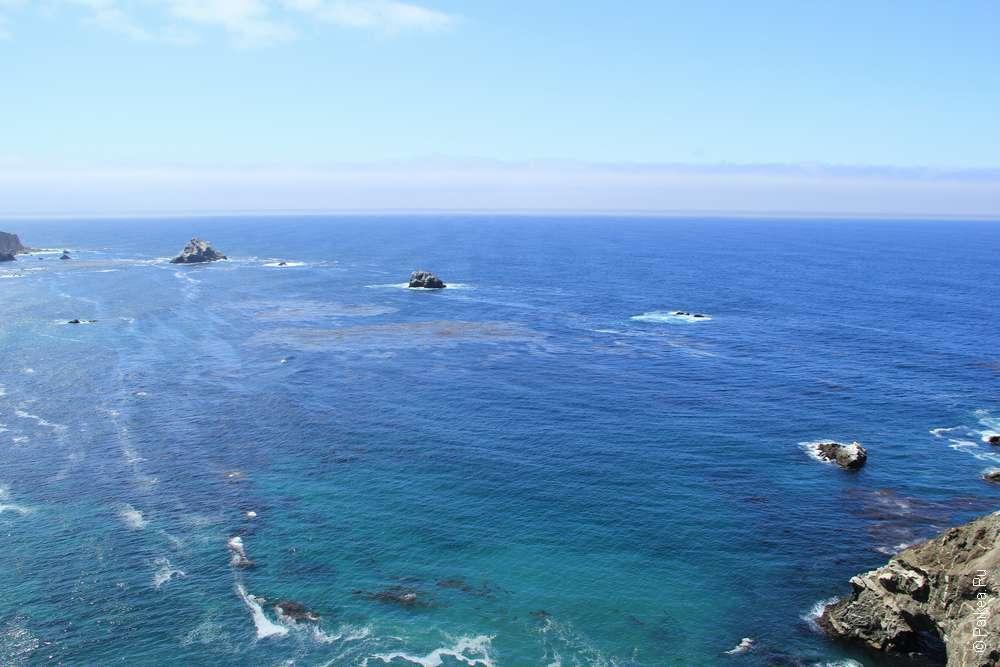 Островки в океане