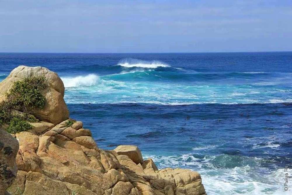 Набегающие волны Тихого океана