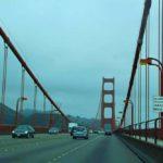 Золотые ворота - висячий мост в Сан-Франциско, США