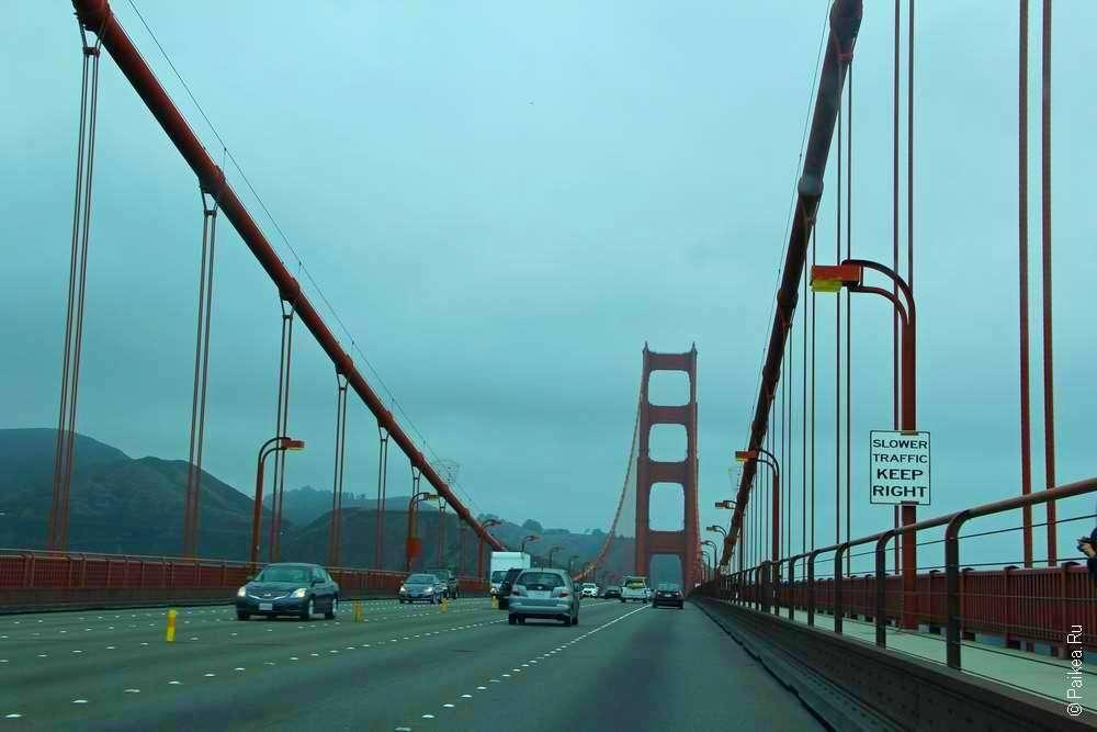 Золотые Ворота в Сан-Франциско