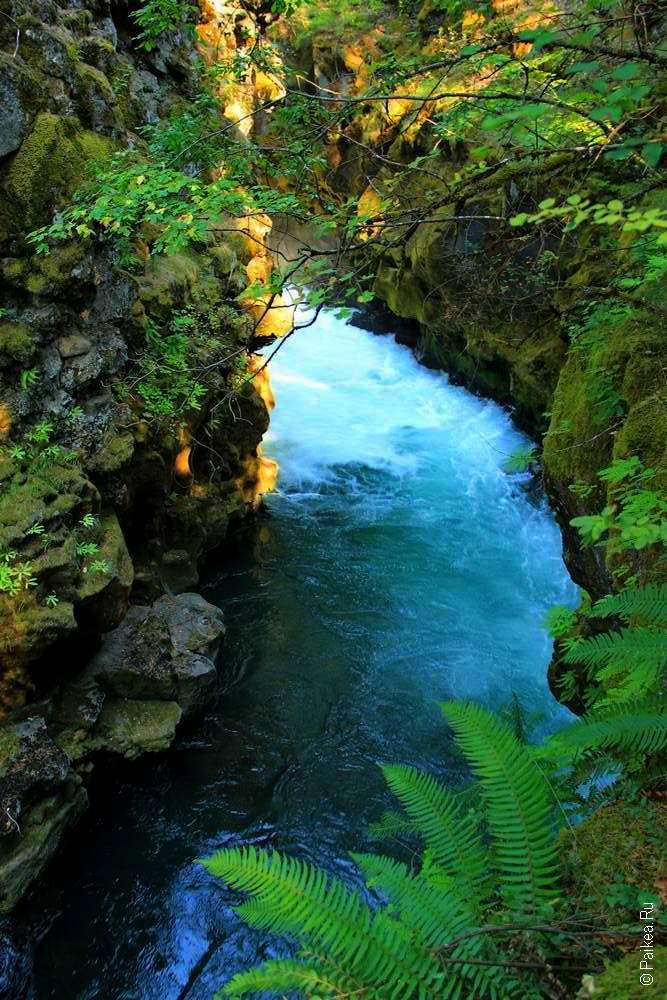 Ущелье реки