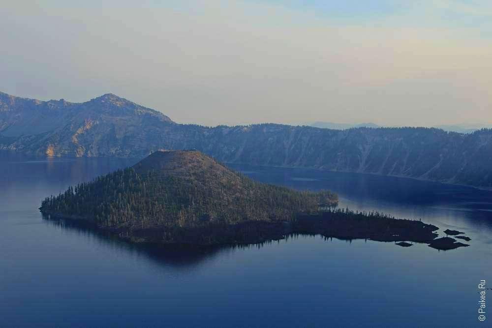 Остров Волшебник в озере Крейтер
