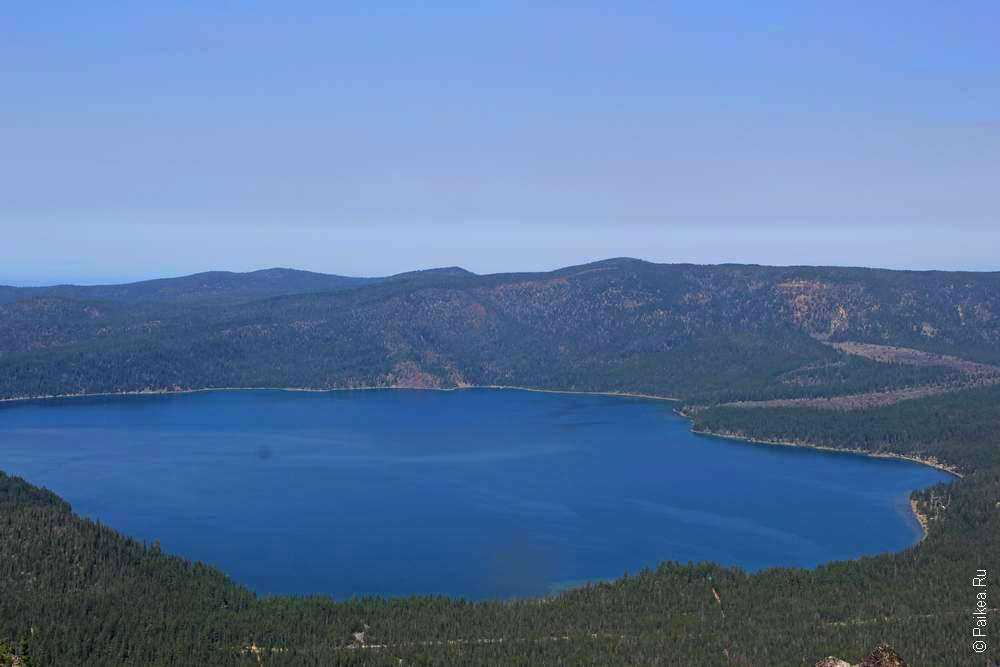 Озеро Паулина (Paulina Lake)