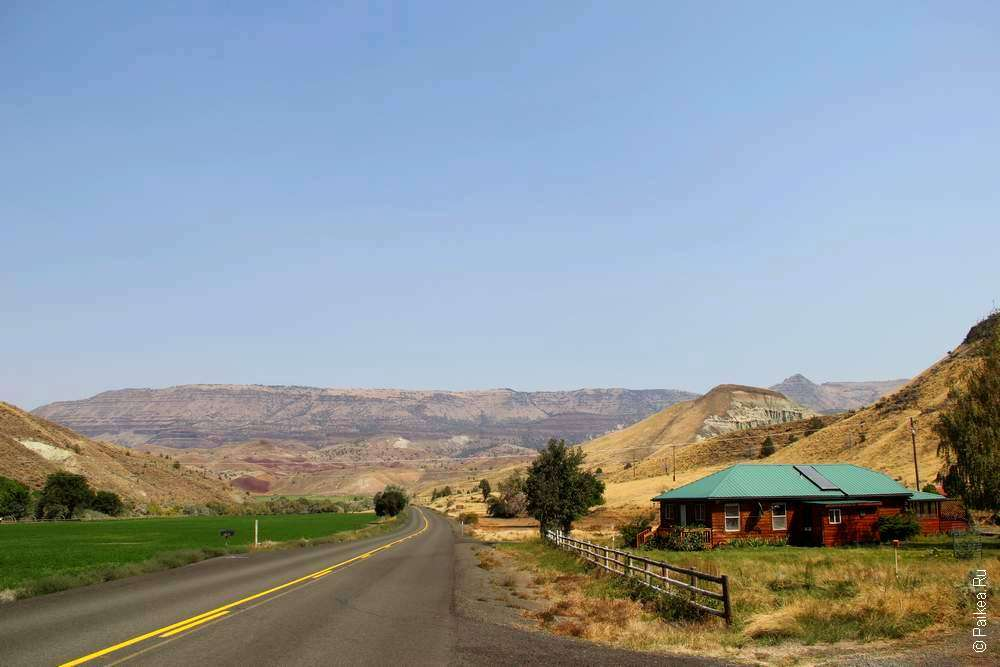 Территория John Day Fossil Beds
