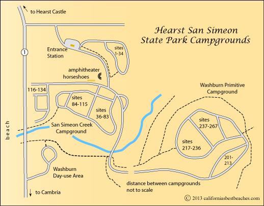Карта Сан Симеон