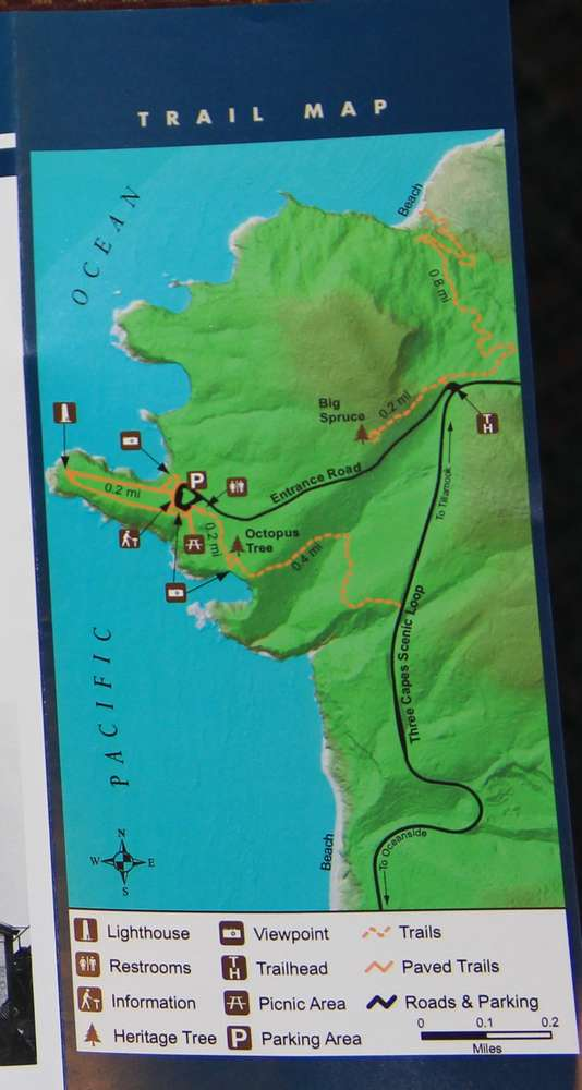 Карта мыса Меарес
