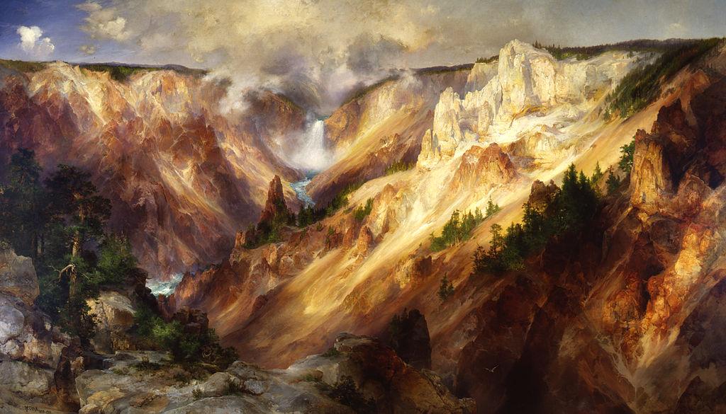 Картина Томаса Морана