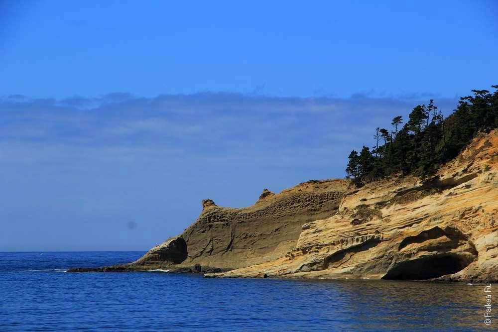 Мыс Киванда на побережье Орегона