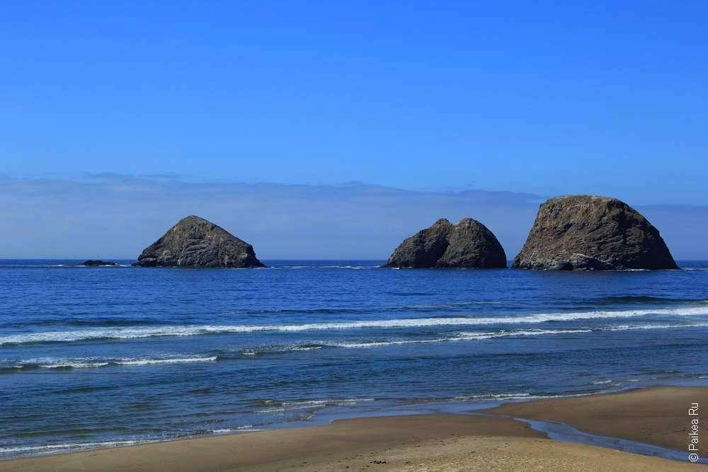 Скалы у побережья Орегона