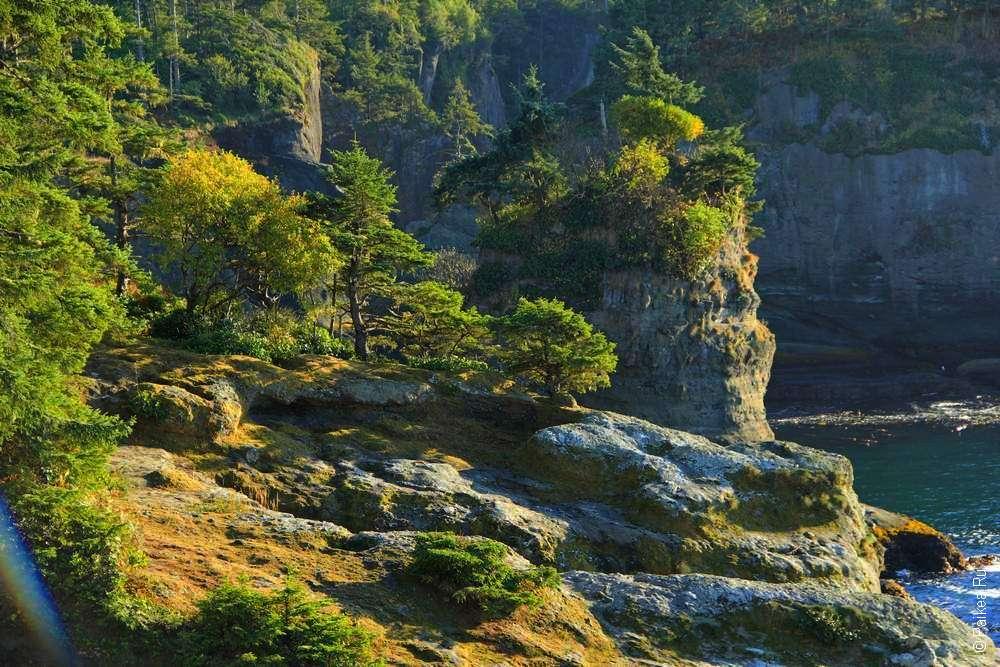 Скалы на Тихоокеанском побережье США