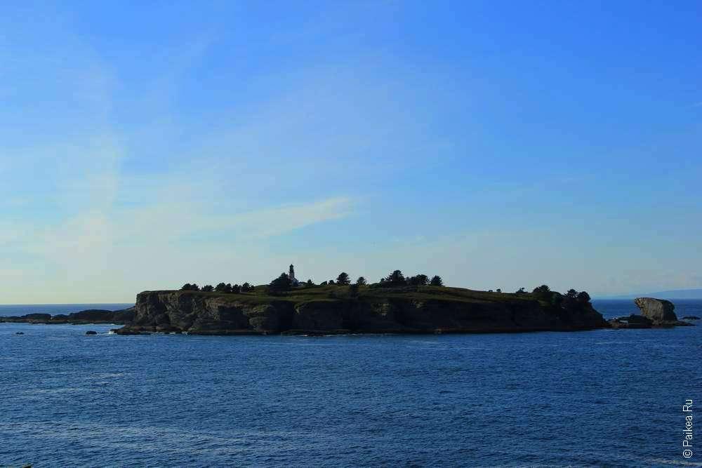 Остров Татуш (Tatoosh)