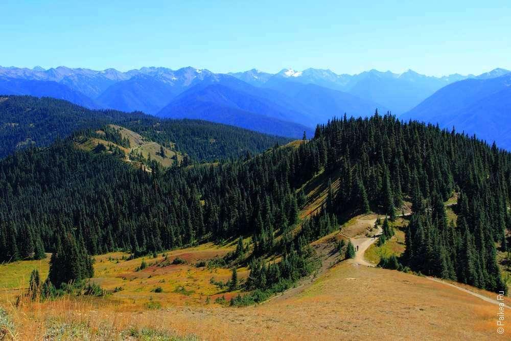 Треккинг в горах Северной Америки