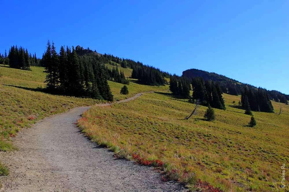 пеший маршрут в горы
