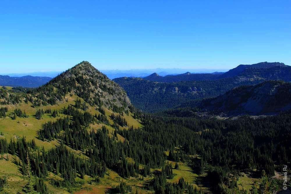 горный пейзаж в парке сша
