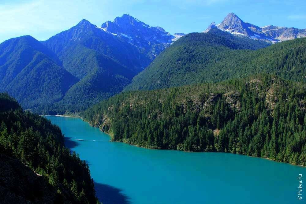 озеро и горы северные каскады