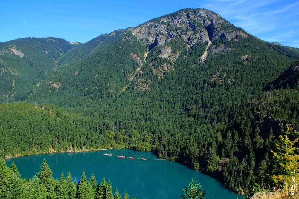 Горный пейзаж штата Вашингтон