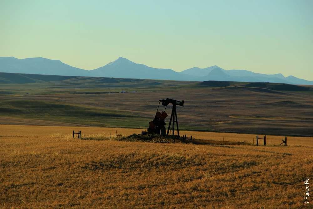 Добыча нефти в штате Монтана