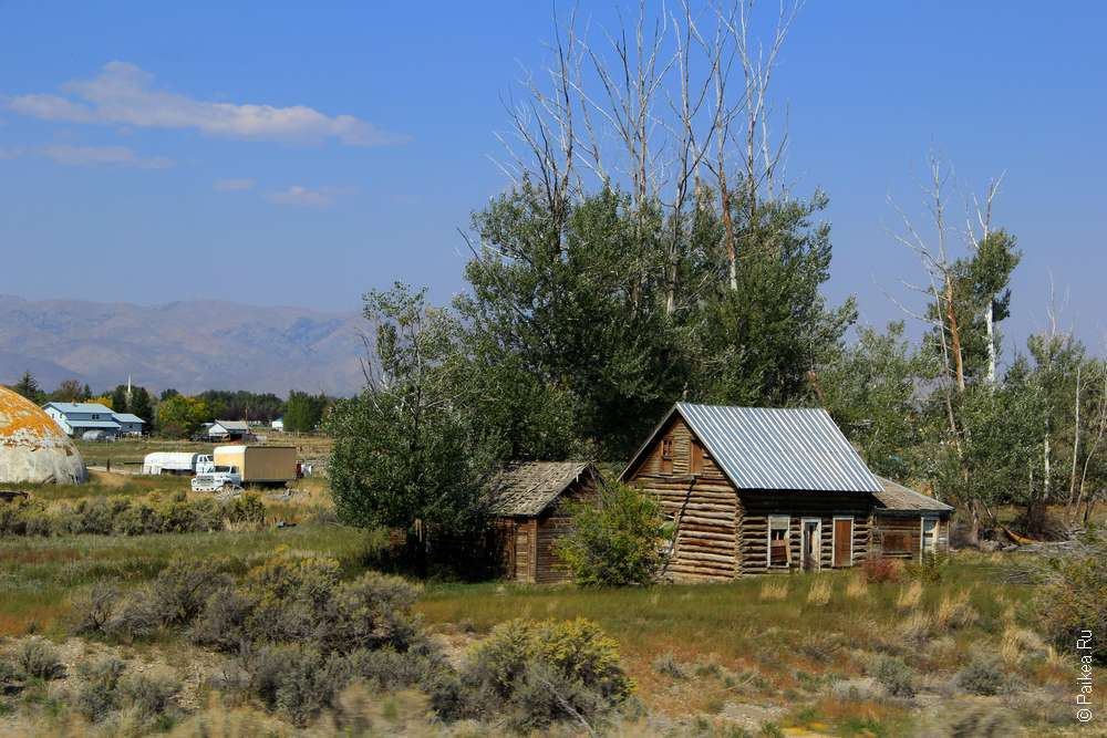 Деревянный дом в глубинке США