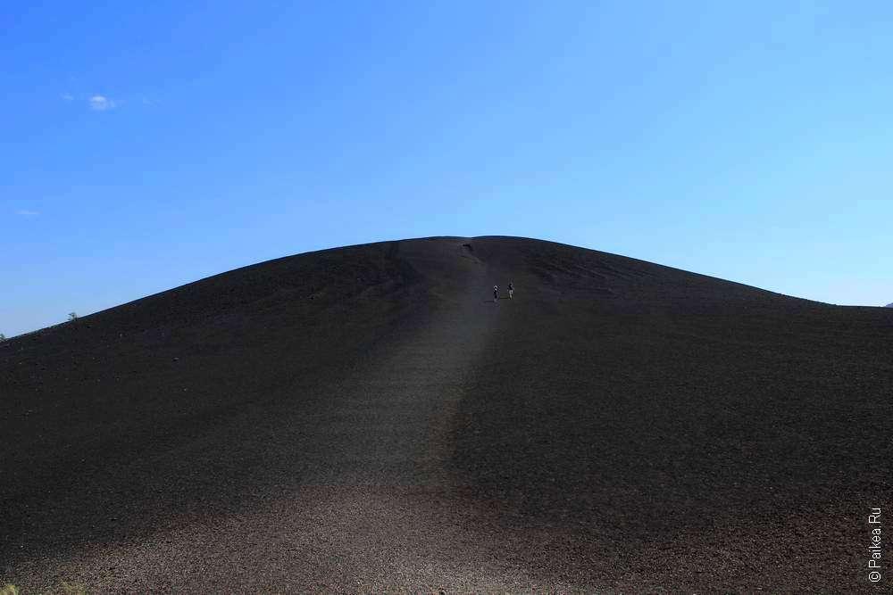 треккинг на вулканический конус