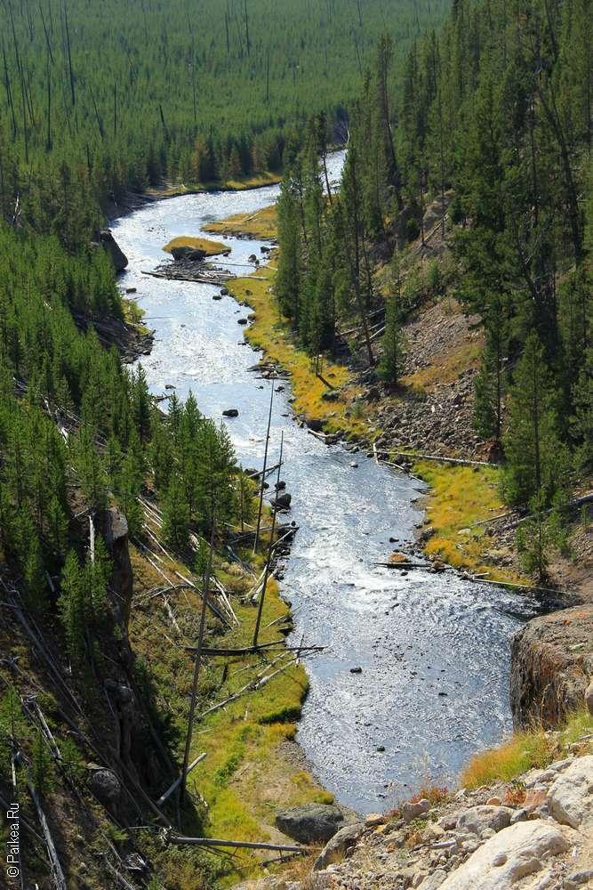 Река Гиббон (Gibbon River)