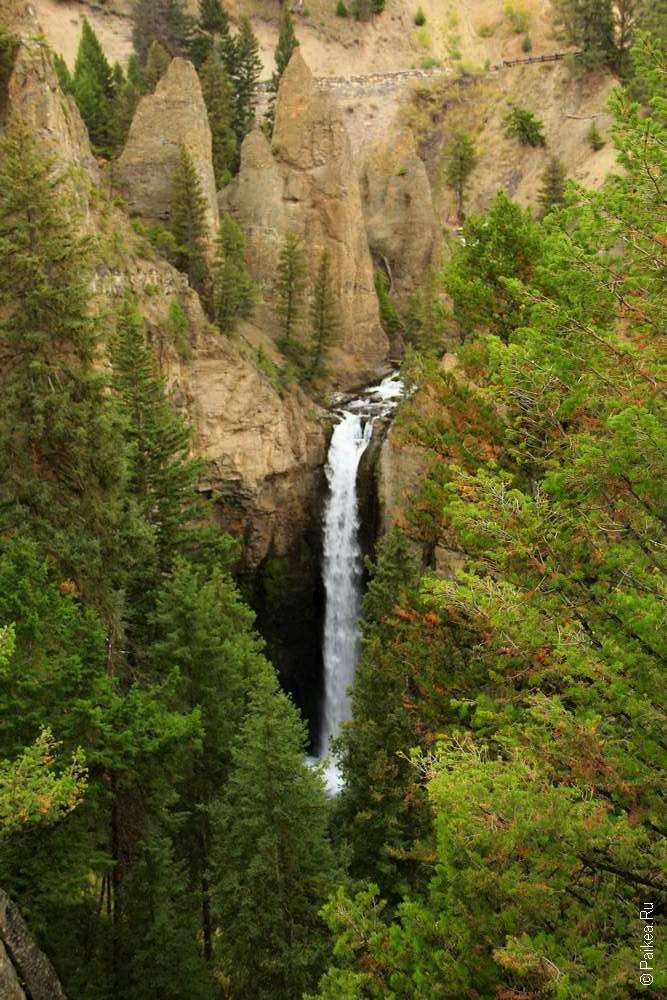 Tower Falls и пинаклы