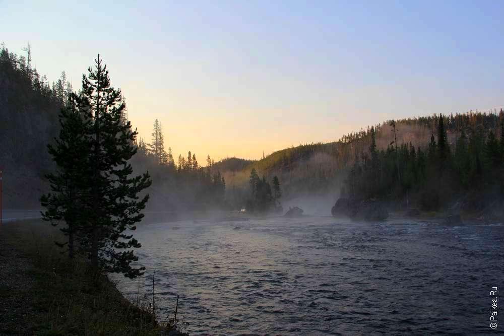 Утро на реке Файрхол