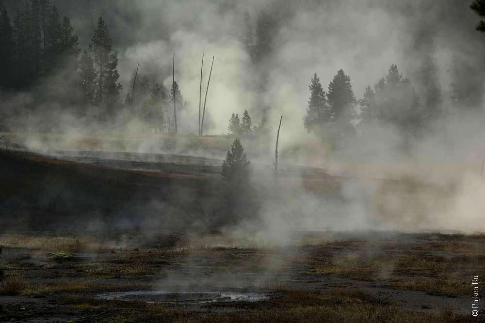 геотермальный бассейн
