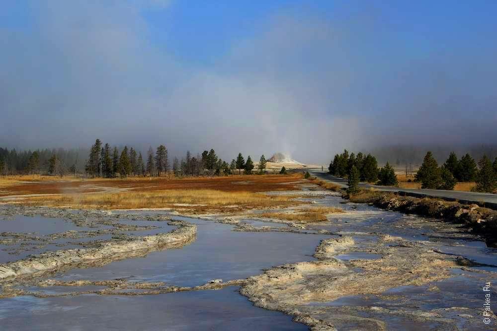 Геотермальный источники в Вайоминге