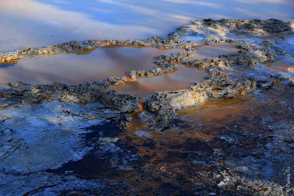 Геотермальыне источники в США