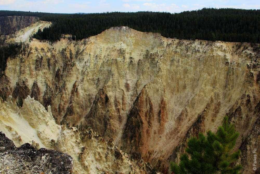 Южная стена гранд каньона