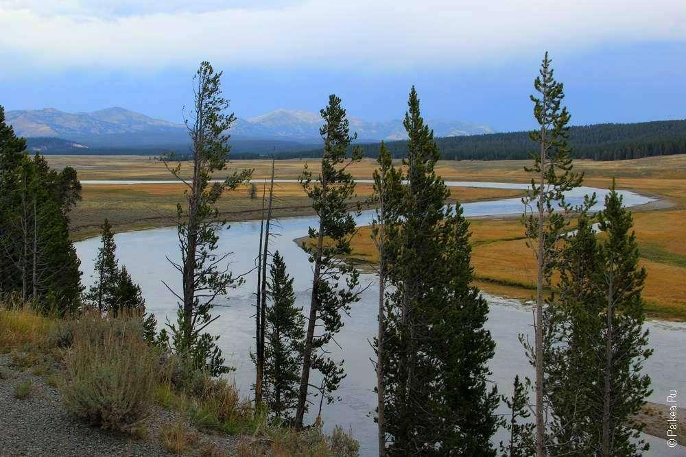 Река Йеллоустоун (Yellowstone river)