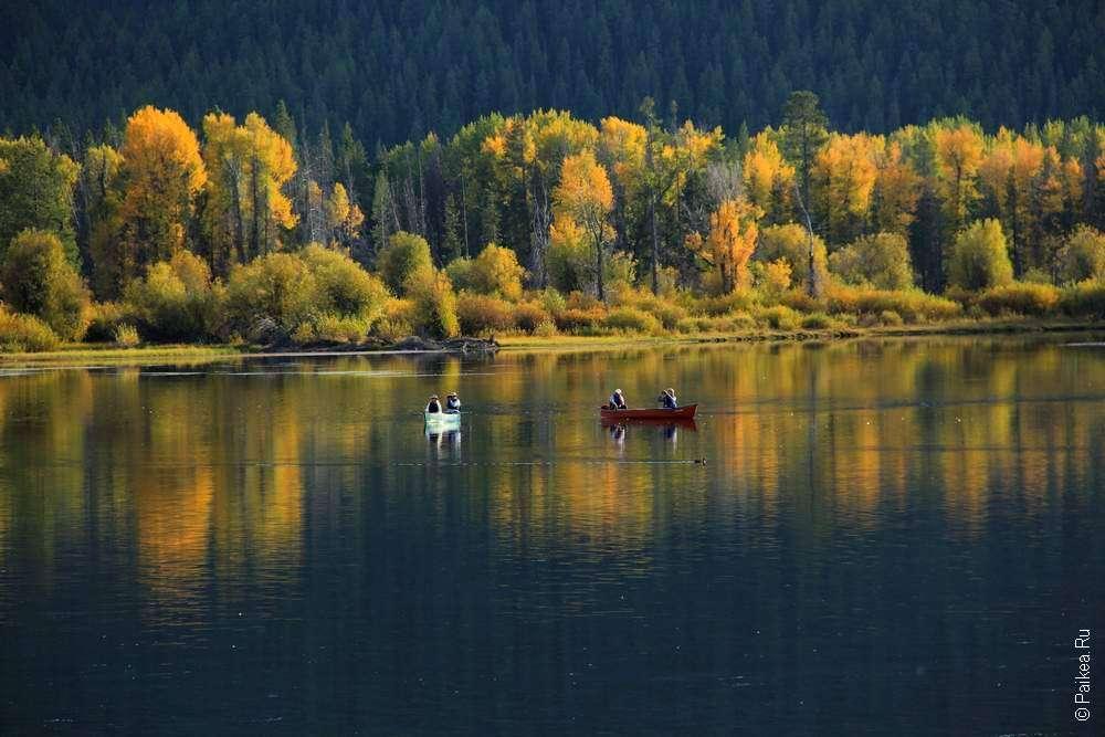 йеллоустоун отели на озере