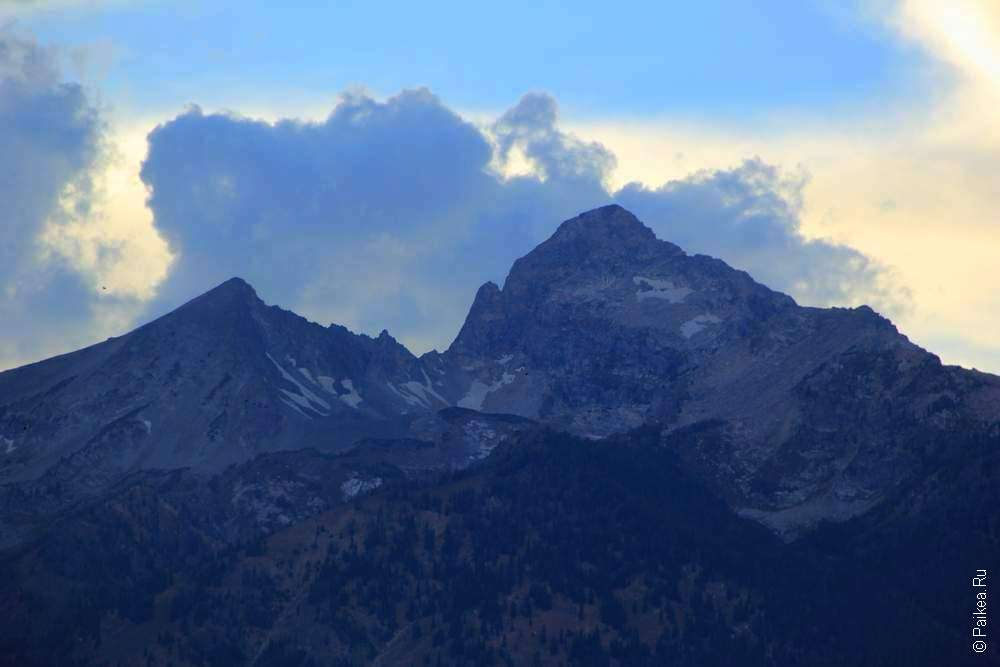 Облака над горами