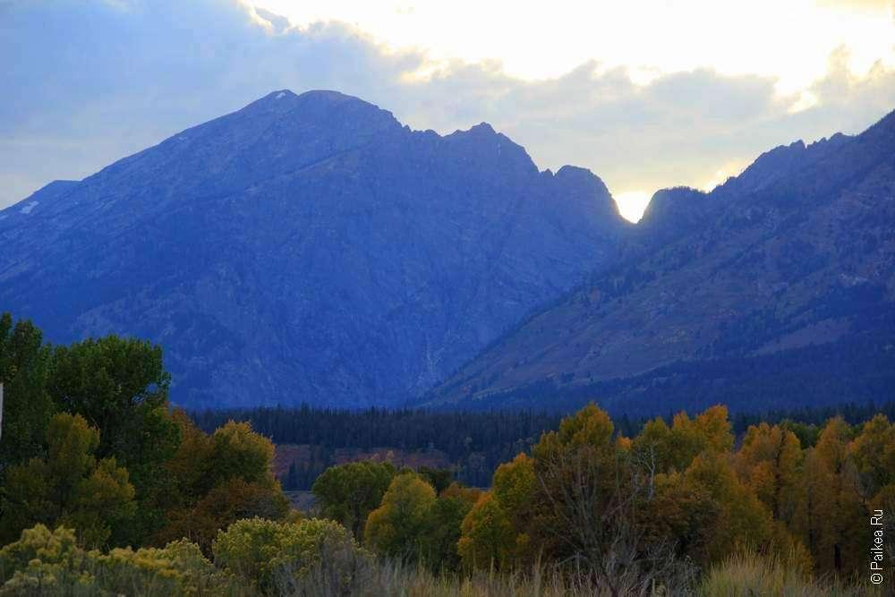 Горы в Америке
